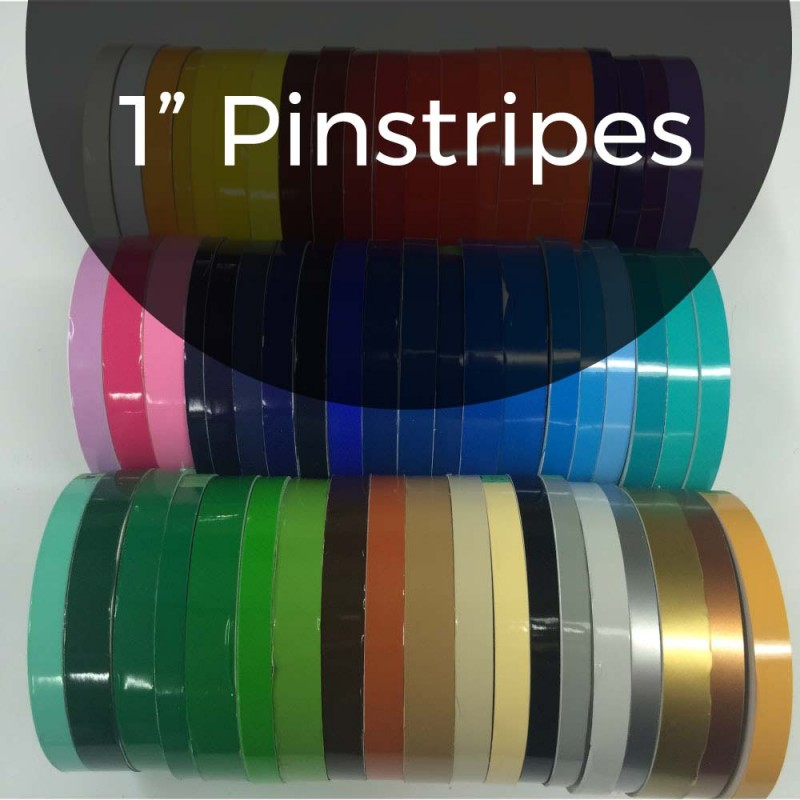 "1"" x 150 ft. Pinstripes"