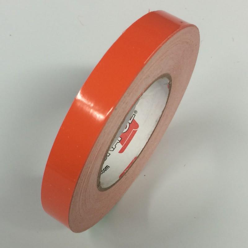 Light Orange Pinstripes